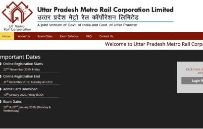 Lucknow Metro Recruitment: LMRC admit card 2020 released, direct link to download here