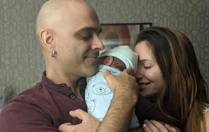 Raghu Ram shares first picture of baby Rhythm, explains why they chose the 'cosmic' name