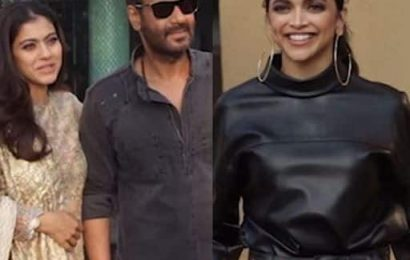 Deepika Padukone and Ajay Devgn promote Chhapaak and Tanhaji: The Unsung Warrior on the same day — watch video | Bollywood Life