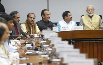 At all-party meet, PM Modi says govt open to discussion on all issues
