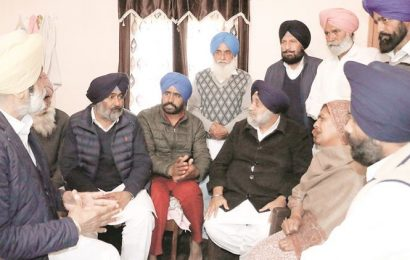 Behbal Kalan firing case: Week after key witness died, top SAD, Cong leaders visit family on same day