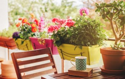 Ways to spruce up your own balcony or patio in the new year