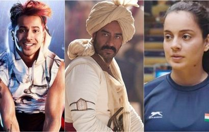 Bollywood box office: Street Dancer 3D and Panga are no match for Tanhaji