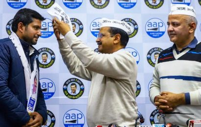After Shoaib Iqbal, Congress leader Mahabal Mishra's son crosses over to AAP