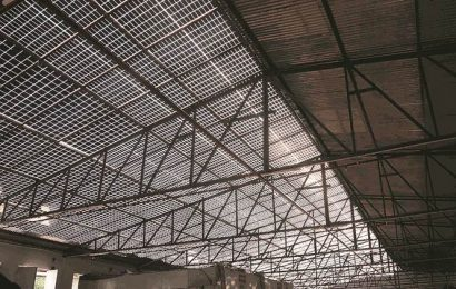E-sheds without tin structures: Cost-efficient, leakage-free