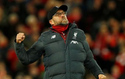 Liverpool not thinking about 'Invincibles' repeat, says Jurgen Klopp