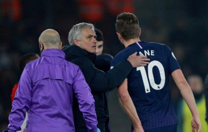 England skipper Harry Kane out until April with hamstring injury