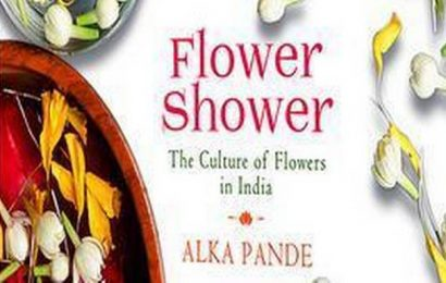 Alka Pande researches on the history of flowers in her new book