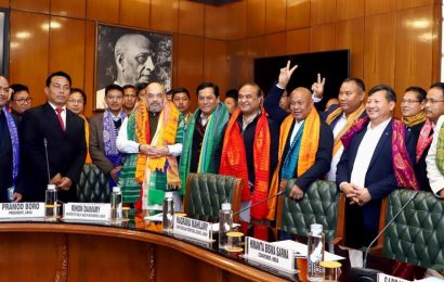 Govt signs Bodo peace accord, ends decades-old armed movement for separate state