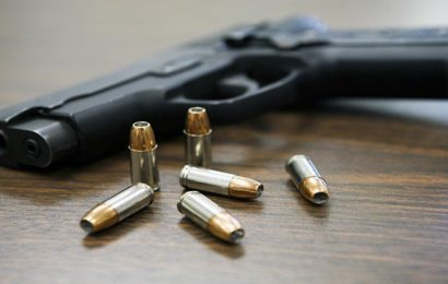 Undertrial shoots at himself in courtroom, four cops suspended