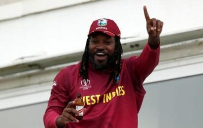 Chris Gayle takes his big hitting to Nepal's T20 league