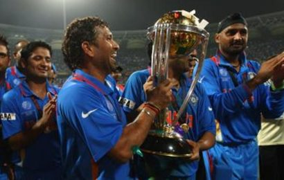 Sachin Tendulkar's 2011 World Cup win moment shortlisted for Laureus award