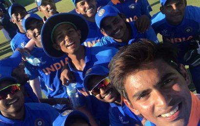 India thrash Australia to storm into U-19 World Cup semifinals