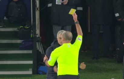 'I was rude, but I was rude to an idiot': Jose Mourinho pulls no punches after his booking