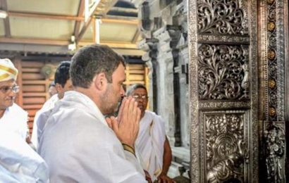 Shiv Sena invites Rahul to visit Ayodhya along with UddhavThackeray