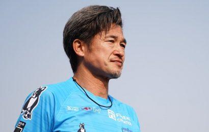 Kazuyoshi Miura at 52 signs new contract with Yokohoma FC for his 35th season