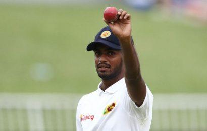 Lasith Embuldeniya takes five as Sri Lanka toil in first Test vs Zimbabwe