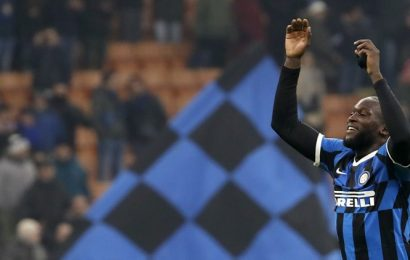 Romelu Lukaku nets two as Inter Milan beat Cagliari 4-1 to reach quarters