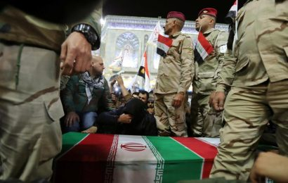 Pro-Iran faction urges Iraqi troops 'get away' from US forces in bases