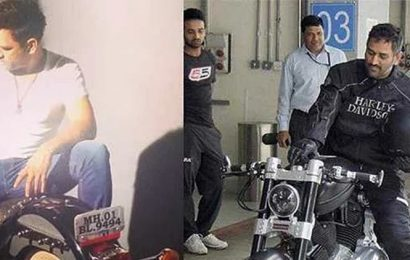 WATCH: MS Dhoni's enviable bike collection unveiled by wife Sakshi