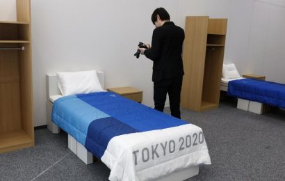 Tokyo 2020 Olympics athletes assured cardboard beds won't collapse during sex