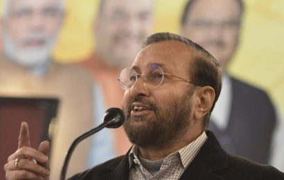 Javadekar blames Congress, AAP and Left for creating unrest in the country, universities