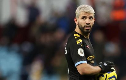 Man City thrash Villa with Aguero's record-breaking hat-trick