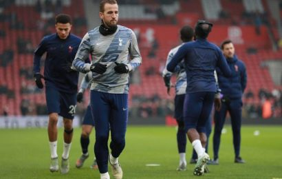 Harry Kane sidelined till April with hamstring injury