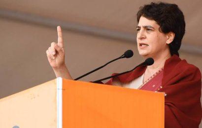 Priyanka slams PM over Section 144 in Varanasi on '359 days'