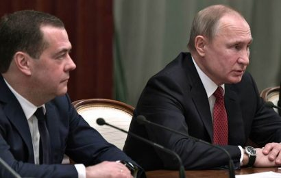 Russian govt resigns as President Putin proposes changes in Constitution