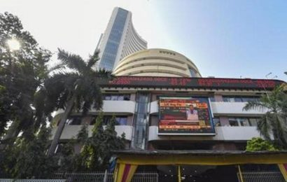 Sensex jumps over 200 points ahead of Economic Survey; Nifty holds 12K