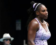 Serena Williams, out of Australian Open, says Grand Slam record bid will go on