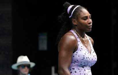 Serena Williams, out of Australian Open, says Grand Slam record bid will go on