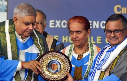 Bengal Governor takes dig at Calcutta University VC for skipping St Xavier's convocation