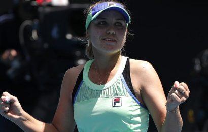 Sofia Kenin downs Ons Jabeur to reach maiden Grand Slam semi-final