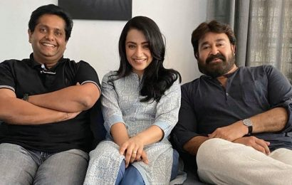 Trisha joins Mohanlal, Jeethu Joseph on sets of Ram