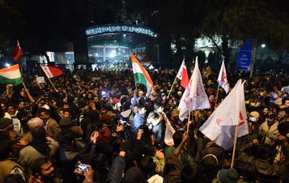 FIR filed in connection with JNU violence, social media and CCTV footages being scanned: Police