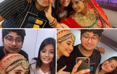 Yeh Rishta Kya Kehlata Hai के सेट पर Shivangi Joshi को सरप्राइज देने पहुंचे भाई-बहन, मिलकर यूं मचाया धमाल