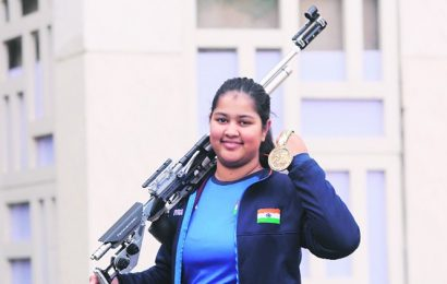 With two consecutive title victories, shooter Zeena Khitta eyes place in senior team