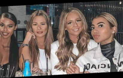Love Island's Shaughna enjoys boozy night out with Sophie Piper and Eve Gale