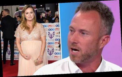 James Jordan: Strictly star shares 'worrying' discovery amidwife Ola Jordan's pregnancy