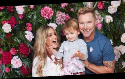 Ronan Keating and wife Storm's gender reveal: All the exclusive pictures from their OK! magazine shoot