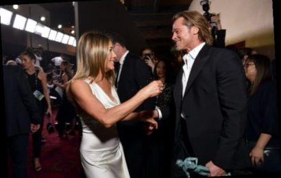 Jennifer Aniston Congratulated Brad Pitt on His Oscar Win At a Private After-Party