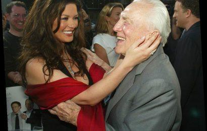 Kirk Douglas' Sweet Relationship With His Daughter-In-Law Catherine Zeta-Jones