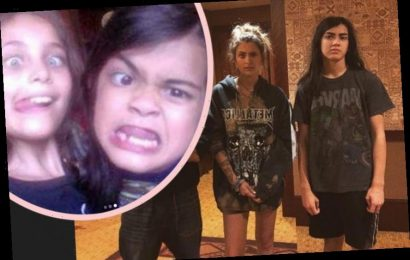 Paris Jackson Shares Rare Throwback Pics With Blanket In Sweet 18th Birthday Post!