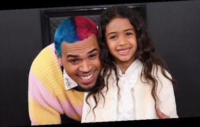Chris Brown Shares Cute New Pic With His Gorgeous 'Mini Me' Daughter Royalty, 5