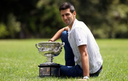 Djokovic determined to end up on top