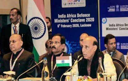India, African countries resolve to fight terror