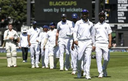 New Zealand beats India by 10 wickets in series-opening test