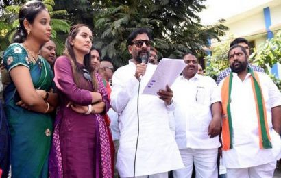 Byreddy seeks construction of irrigation projects in Rayalaseema